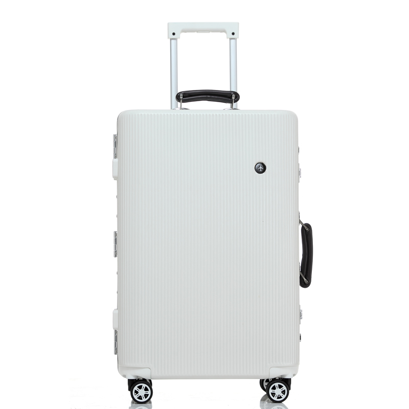 Aluminum frame male female 20 30inches luggage on universal wheels,high quality ambassador trolley luggage,pc hard case boxes wholesale high quality travel luggage cosmetic box male and female cosmetic bags on universal wheels multi purpose cosmetic case