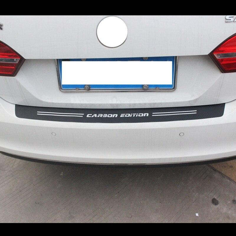 Ladekantenschutz Auto Schutzfolie Carbon Fiber Sto/ßstangenschutz F/ür Volvo S60 XC90 V40 V50 V60 S90 V90 Passform F/ür Die Meisten Autos,Awd