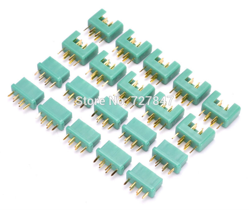 New MPX Connectors Plug 24K Goldplated Pin 40Amp RC Aeromodelling Field Accessories RC Tools Parts