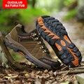 ZHJLUT Hombres Invierno Botas Tácticas Desierto botas de Combate Militar Del Ejército Al Aire Libre de Viaje Zapatos Botines de Cuero Botas Masculinas 613