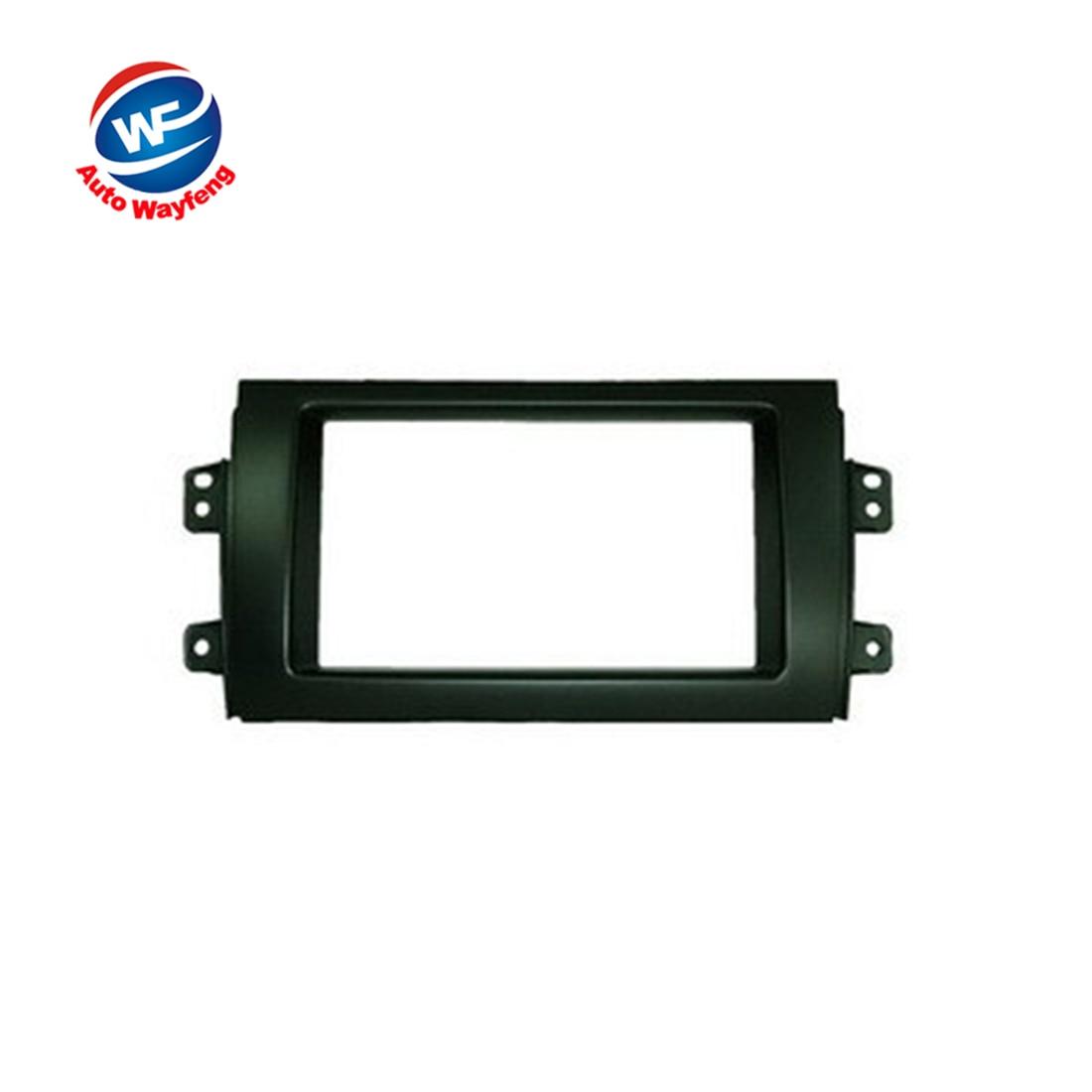 Car 2DIN Refitting Radio Stereo DVD Frame Fascia Dash Panel Installation Kits Fit For SUZUKI SX4(07~10)
