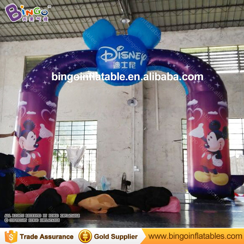 Hot Sale Inflatable Advertising Arch 5M Arch Inflatables Enterance Archway with Free Fan for Outdoor Event, Show archwy toy цена 2016