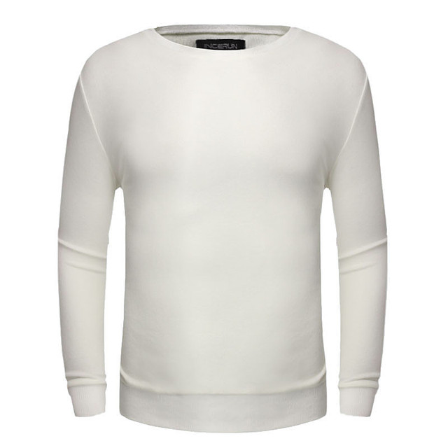 Nova Chegada do Inverno Quente Camisola Homens 2017 Homens Suéteres de Cashmere O-pescoço Pulôver De Lã Puxar Dos Homens Malhas Cor Sólida Plus Size
