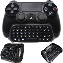 все цены на Bluetooth Wireless Mini Keyboard Chat-pad, Controller Gaming Message Usb Game Keypad Adapter For Play-station 4 Sli-m  Pro Co-nt онлайн