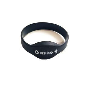 Image 2 - 125khz EM4305 RFID Wristband Bracelet Rewritable ID Card for Swimming Pool Sauna Room