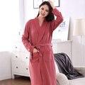 Outono 100% Algodão Completa femme Vestes Kimono Sleepwear Pijama das Mulheres Pijamas Sexy Nightgowns feminio Plus Size XXXL