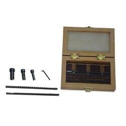 HSS Chiavetta Spiedi Set Metric Dimensioni 6pcs 2 millimetri 3 millimetri Spiedi es 6/8/10 Con Colletto boccole con Spessori di CNC Utensili Da Taglio coltello