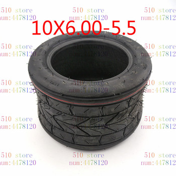 free shipping Motorcycle Scooter Beach Car Modified Widened Rear Tires 10x6.00-5.5 Inch Tires Vacuum Tires