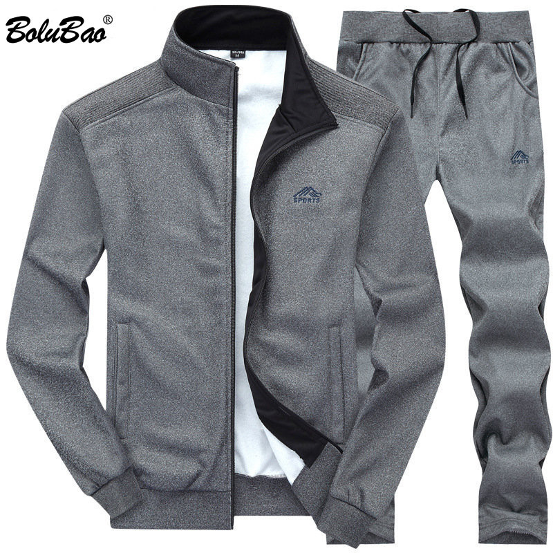 BOLUBAO New Men Sweatshirt Spring Summer Men's Fashion Tracksuit  Jogging Comfortable Male Street Style Sets
