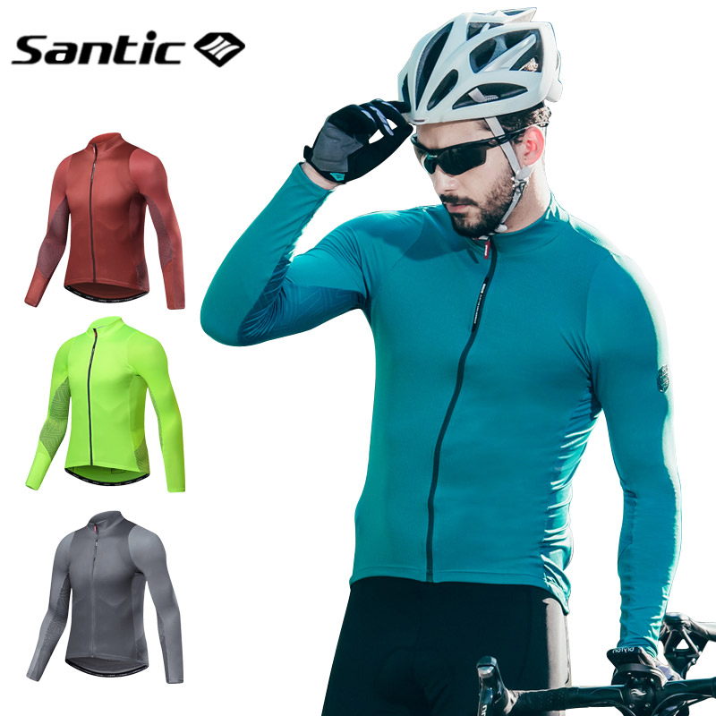 8e5b37759f Detail Feedback Questions about Santic Cycling Jersey Long Sleeve Men MTB  Jersey Downhill Mountain Bike Top Jersey Motocross Road Bike Clothing  Maillot ...