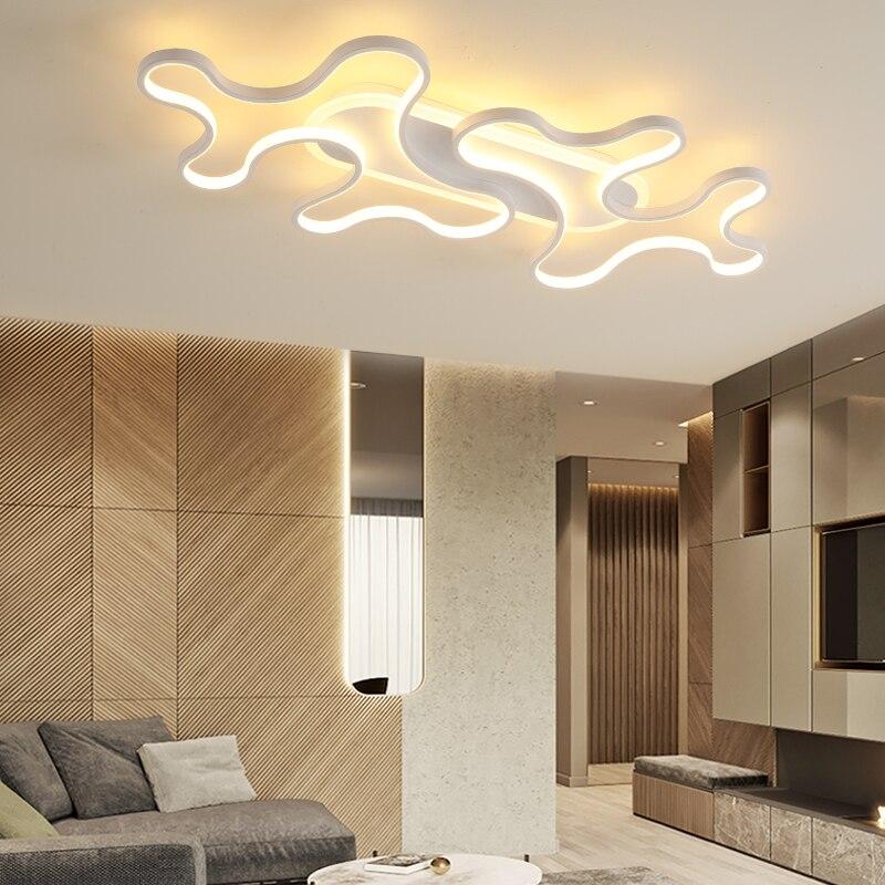 LICAN plafond moderne à LEDs lumières pour salon chambre lustre de plafond moderne luminaire plafonnier nuage LED plafonnier