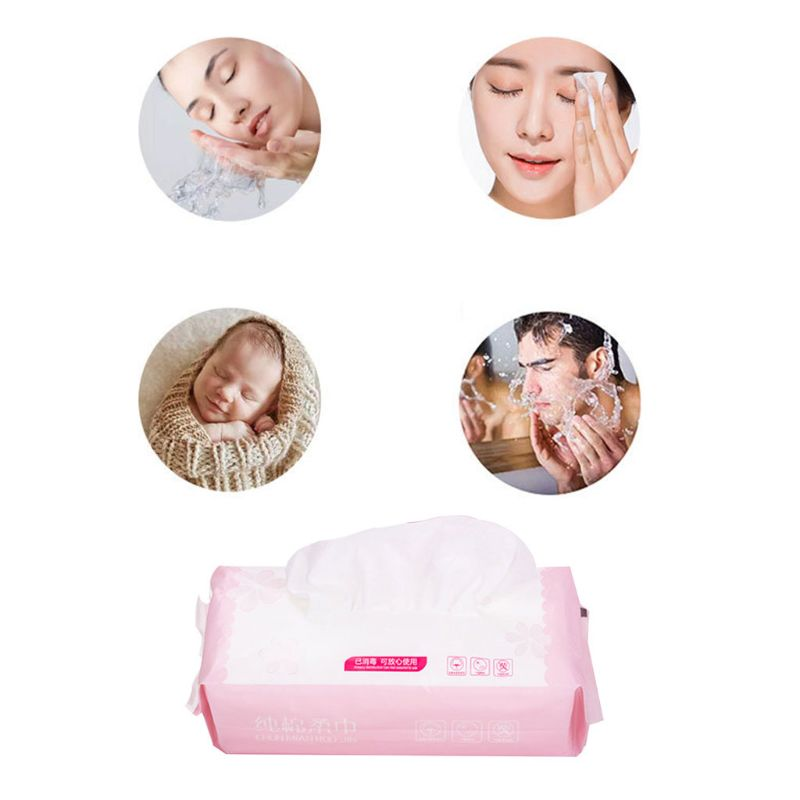 Tools & Accessories 80pcs/pack Net Weave Disposable Cotton Towel Washing Face Pad Removable Tissue Cosmetic Makeup Remover Tool Wet Dry Cloth Wipes