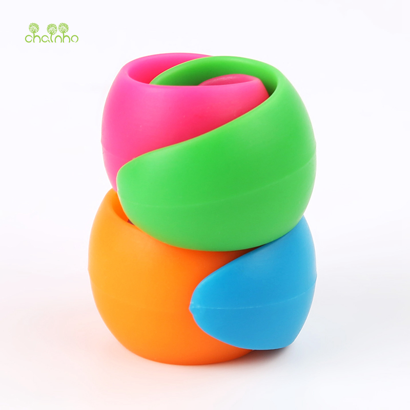 Image 3 - Chainho,12pcs/bag,Mix Color,Small Silicone Rubber Bobbin Clip,Use For Anti wire Head Fall off,Spool Fixing Clip,DIY Sewing Tools-in Sewing Tools & Accessory from Home & Garden