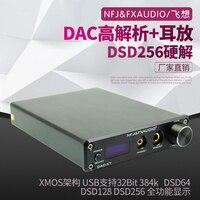 FX Аудио Новый DAC X7 Hifi 2,0 цифровой аудио USB XMOS декодер 32Bit/384 кГц DSD256 усилитель для наушников OLED Дисплей