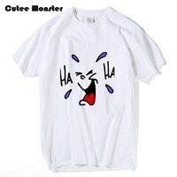 TO Tłum Moss Pocałunki Roy T shirt Men Szczęśliwy Uśmiech Twarz HA HA Cothing Wydrukowano Tees 100% Bawełna Z Krótkim Rękawem T-Shirt Plus Rozmiar 3XL