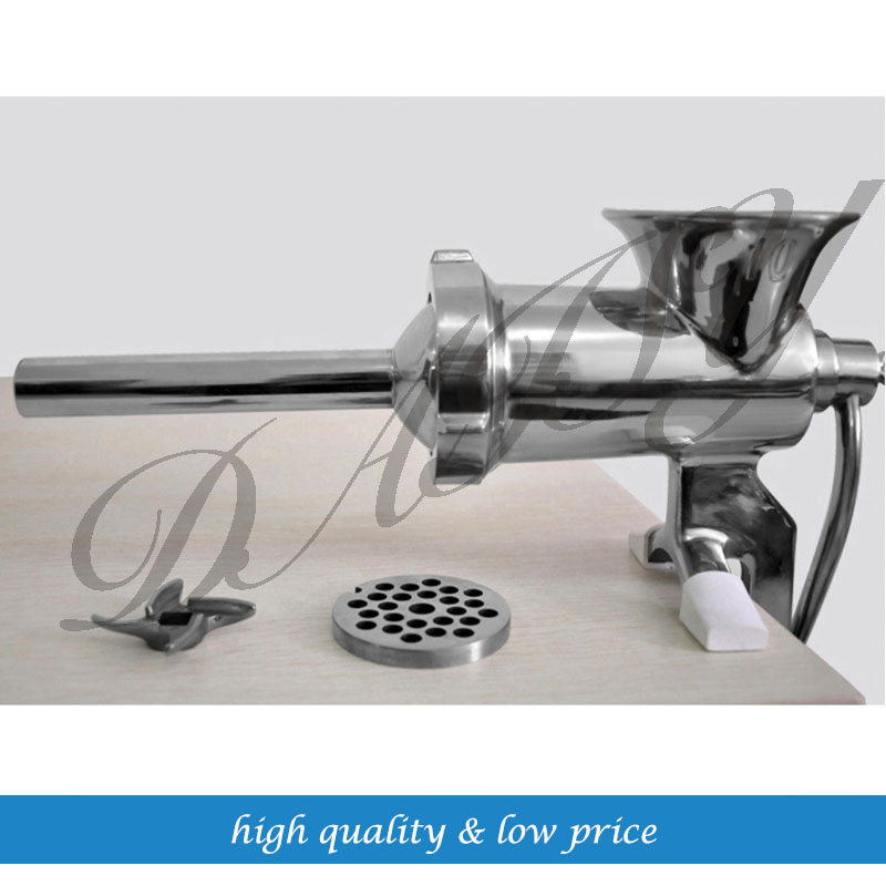 Manual Multifunctional Meat Grinder Sausage Filling Machine Large Size Stainless Steel font b Knife b font