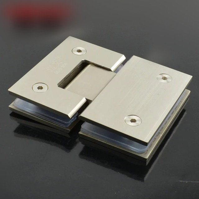 180 Degree Wall Mount Glass Hinge,frameless shower door hinges KF434