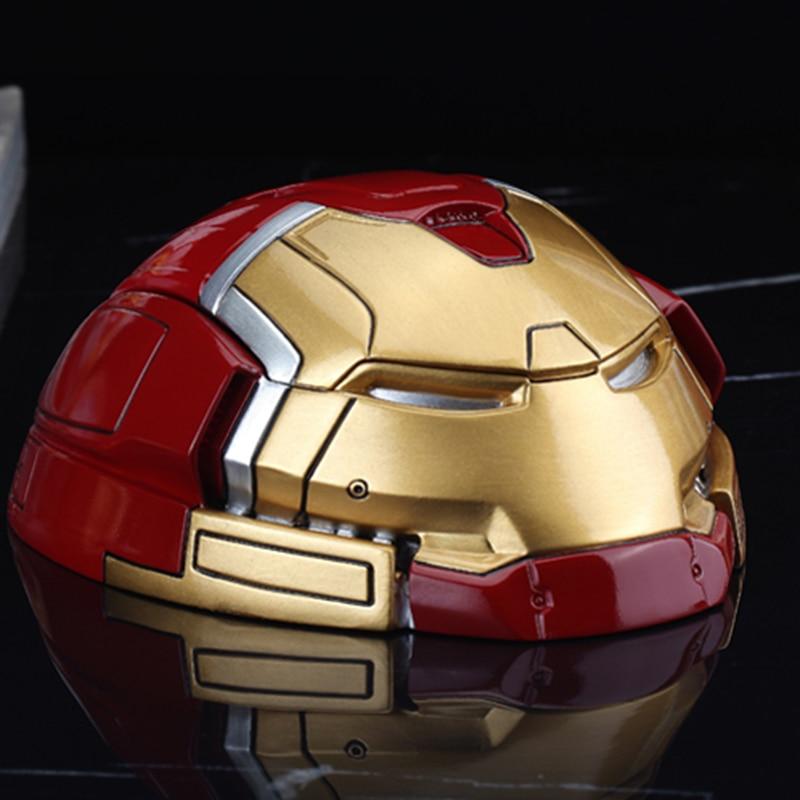 Storage-Box Garage-Kit Hulkbuster-Figure Head-Resin Iron Man Anime Toy-Brinquedos