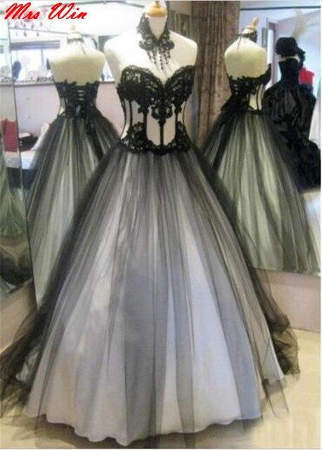 Vestidos novia en blanco y negro