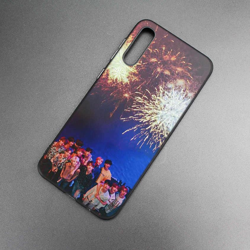 KPOP ASTRO BAP Day6 Zwart TPU Printing Case Voor Xiaomi 9 8 A2 lite A1 Spelen Xioami Redmi Note 7 6 5 Pro 4X4 5 Plus GAAN Cover