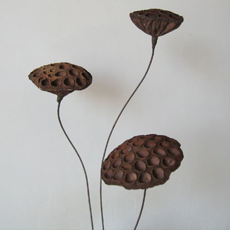Artificial flowers dried flowers home decor natural zen lotus lotus artificial flowers dried flowers home decor natural zen lotus lotus stem seedless lotus flower decoration mightylinksfo