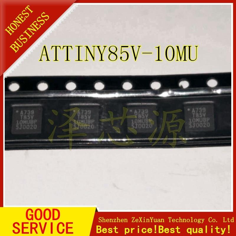 2PCS/LOT ATTINY85V-10MU ATTINY85V T85V-10MU QFN