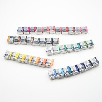 Winsor Newton farby akwarelowe jednoczęściowe farby stałe Cotman 329-744 tanie i dobre opinie Luźne 3 lata Kolor farby wody Papier