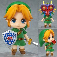 Original box Anime The Legend of Zelda Link 553 Majora s Mask 3D Ver 10cm pvc