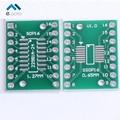 50 unids TSSOP16 SSOP16 SOP16 a DIP16 PCB SMD Tablón de anuncios A DIP 0.65mm/1.27mm a 2.54mm Pin Pitch DIP PCB Junta Convertidor Socket