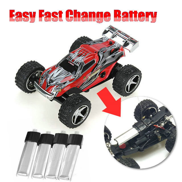Easy Fast Changing Battery Wltoys Wl 2019 Wl2019 5 Sd Gears Remote Control Monster Truck Toy Rc Car Motor Electric Kart