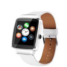 บลูทูธใหม่ดูสมาร์ทวอทช์นาฬิกาสปอร์ตสำหรับแอปเปิ้ลip hone A Ndroidโทรศัพท์กับกล้องFMสนับสนุนซิมการ์ด