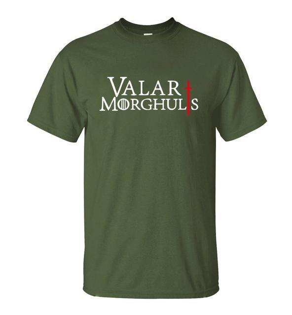 GAME OF THRONES VALAR MORGHULIS T-SHIRT (8 VARIAN)