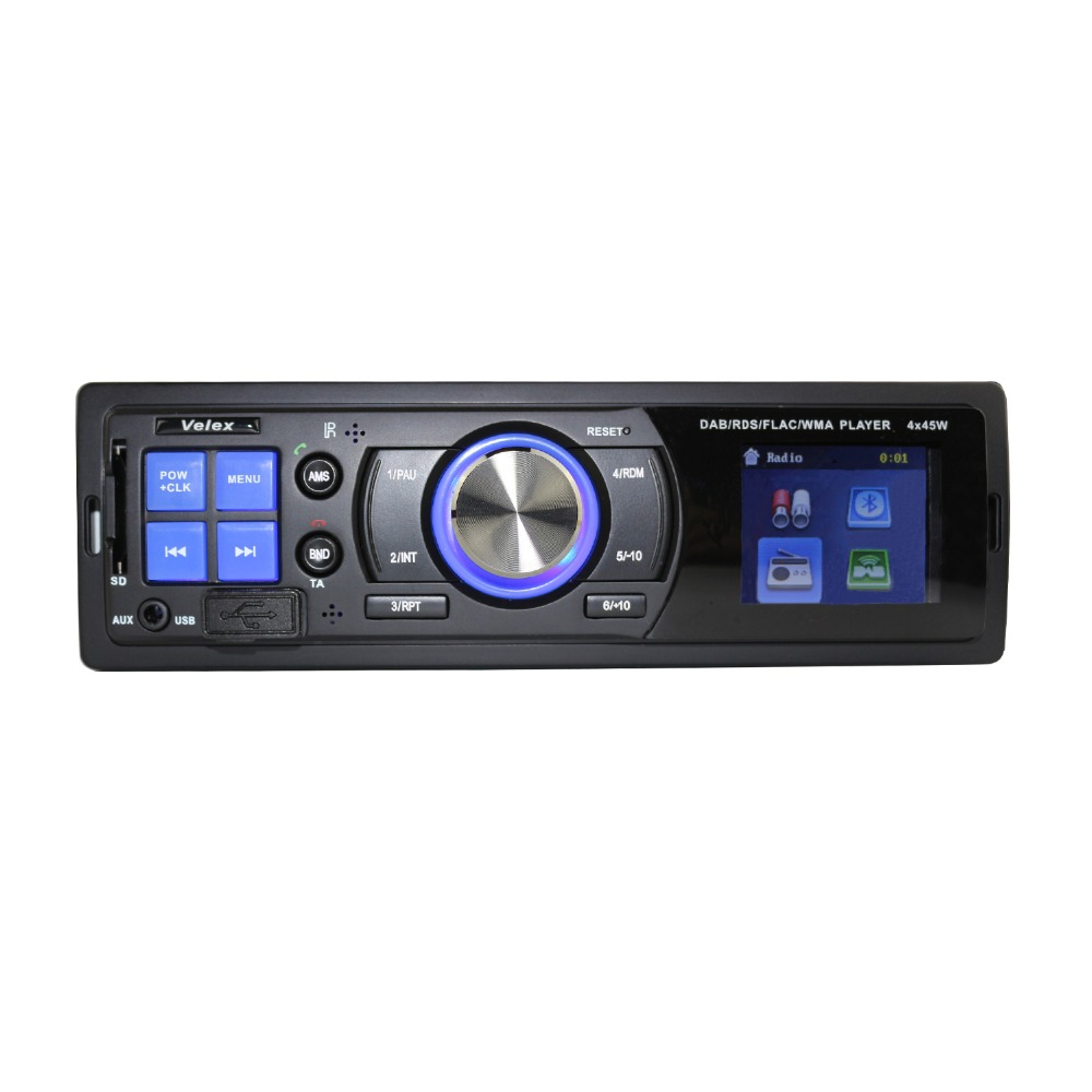 bluetooth car dab radio usb mp3 player stereo music sound system digital media receiver car. Black Bedroom Furniture Sets. Home Design Ideas