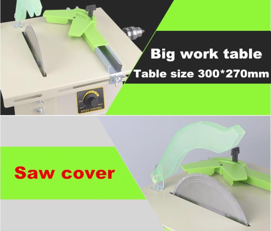 1380W Multifunction Mini Table Saw Stone Polisher Jade Engraving Machine Grinding machine Table Saws Jade Cutting machine 220V