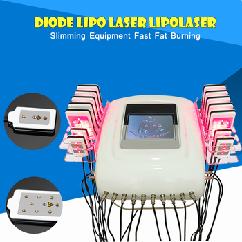 635-650nm lipo laser machine diode lipo laser lipolaser fat removal equipment laser liposuction Machine (14 paddles)