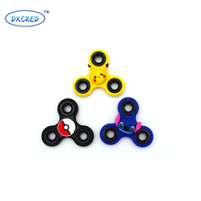 Cartoon Colors hand spinner Tri-Spinner Anti Stress Sensory Fidget Spinner Hand Spinner Ball For Adult Children Toys Gift