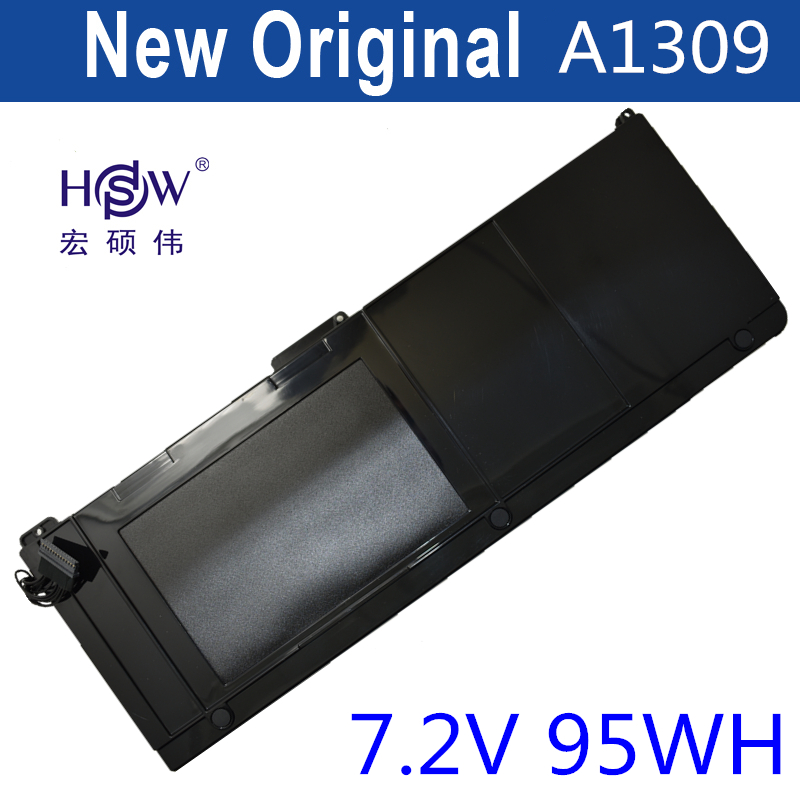 HSW 95Wh Laptop Battery For Apple MacBook Pro 17 A1297 (2009 Version), MC226*/A MC226CH/A, Replace:A1309 BATTERY bateria akku hsw rechargeable battery for apple for macbook air core i5 1 6 13 a1369 mid 2011 a1405 a1466 2012
