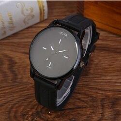 MILER Top Brand Minimalist Watch Men Women Watches Fashion Men's Watch Women's Watches Clock kol saati reloj hombre reloj mujer