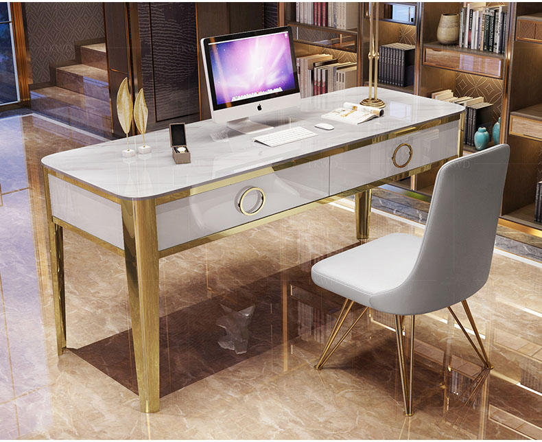 Mesa Escritorio De Oficina White Office Desk Recibidor De Entrada Mueble Study Table Escrivaninha Biurko Scrivania Picnic Table