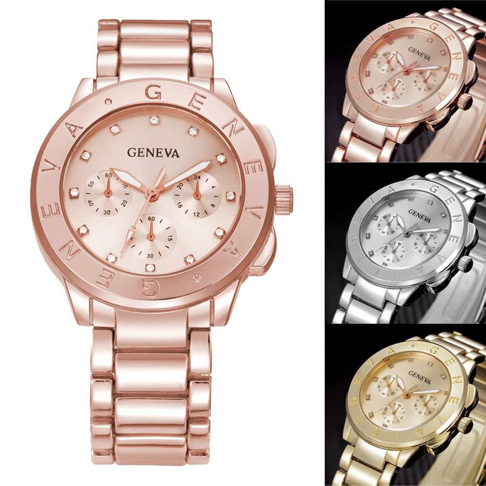 466c5f09e228 Famous Brand Watches Fashion Geneva Ladies Women Unisex ...