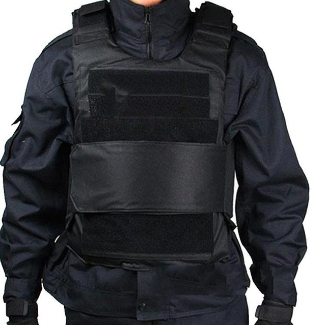 600D stab vest security guard vest CS field plate can be inserted