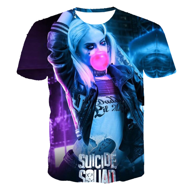 Suicide squad / Harley Quinn Mens 3D T Shirt