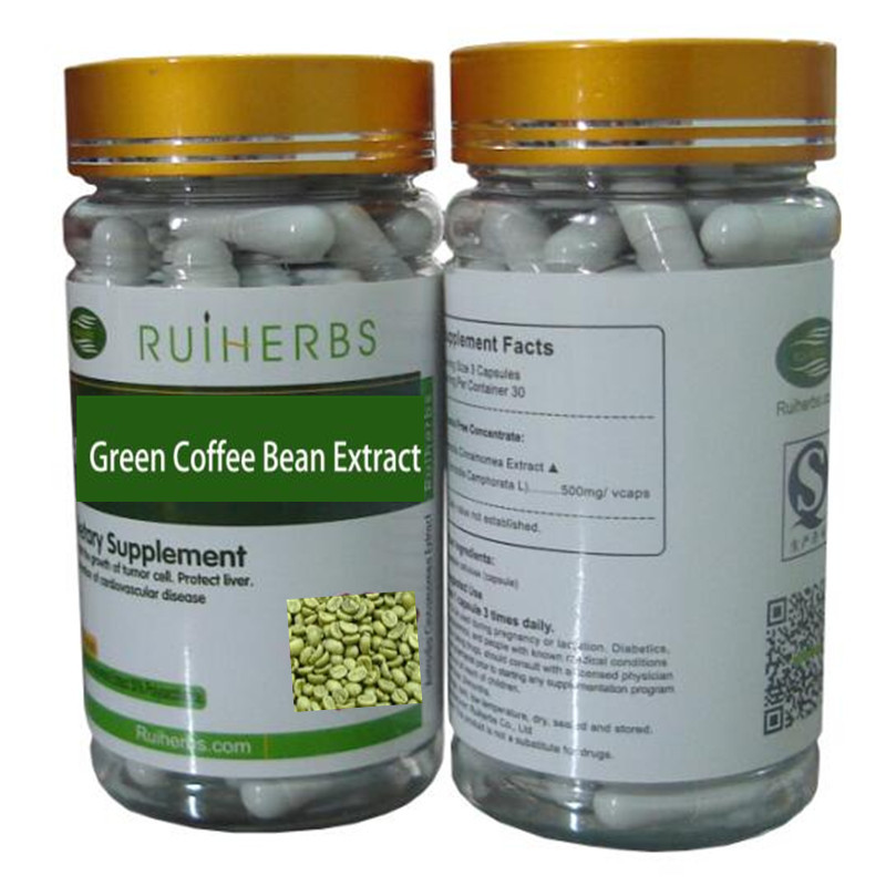 Green Coffee Beans Extract Caps, STRONG HIGH MAX Strength Weight Loss & Slimming