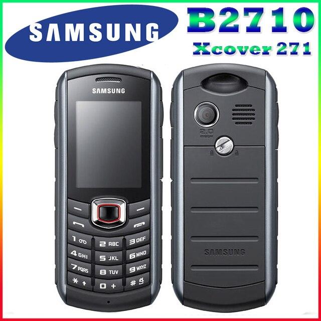 B2710 Оригинальный Разблокирована Samsung B2710 1300 mAh 2-МЕГАПИКСЕЛЬНАЯ GPS 2.0 Дюйм(ов) 3 Г Водонепроницаемый Восстановленное Мобильного Телефона Бесплатная Доставка