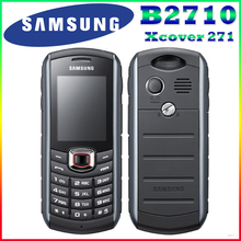 B2710 ursprünglicher freigesetzter samsung b2710 1300 mah 2mp gps 2,0 zoll 3g wasserdichte renoviert handy freies verschiffen