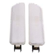 Пара белый переднего бампера боковые габаритные огни сигнальные лампы индикаторы для VW для Volkswagen Golf Jetta MK4 1999-2005 мигалка