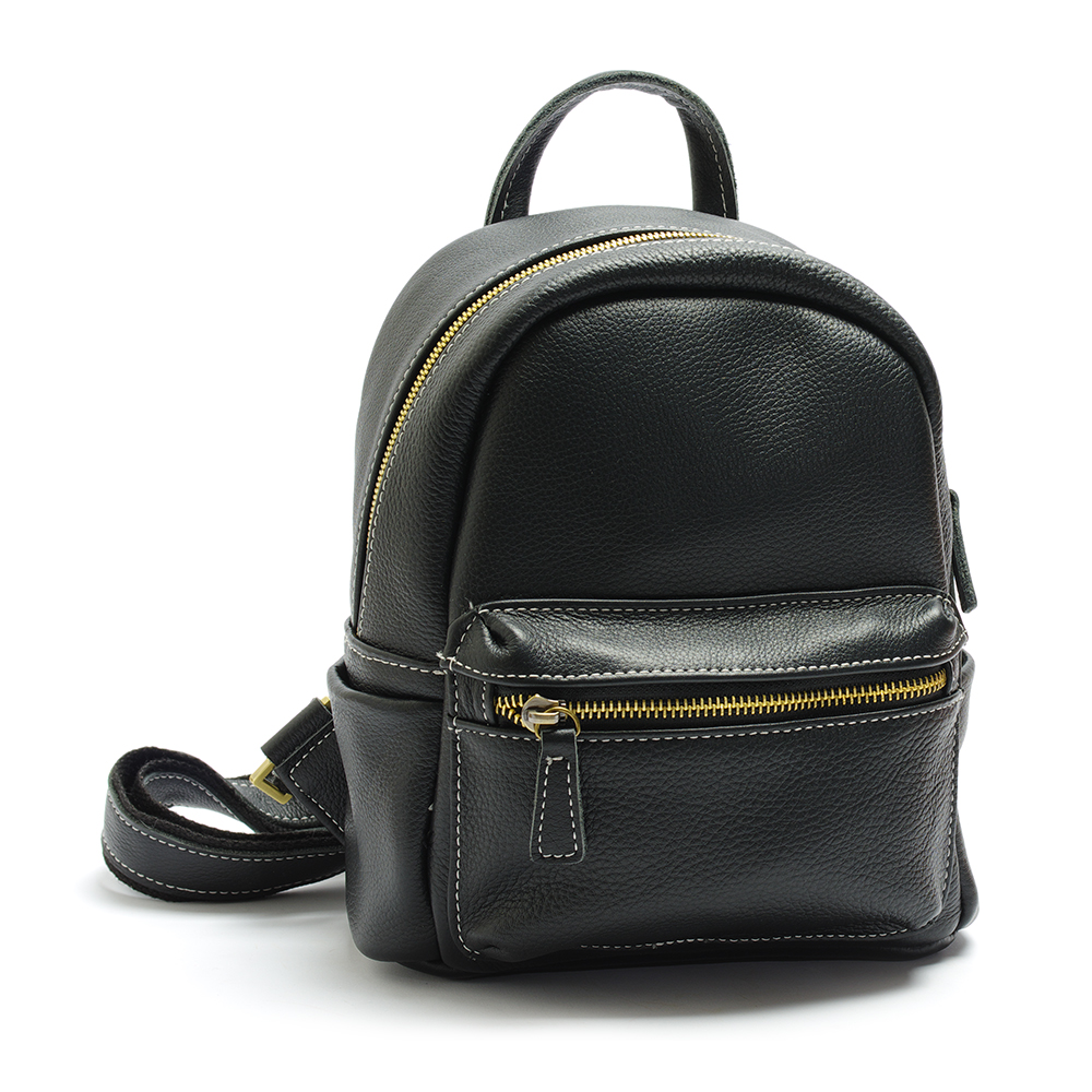 Full - grain leather bag ladies backpack leisure fashion travel bag high quality shoulder bag free shipping