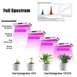 Image 3 - Phlizon ışık büyümeye yol açtı 2000 w bitki yetiştirme lambası bahçe bitkileri led kültür kapalı tam spektrum çiçek ışık kırmızı mavi 220 v