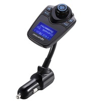 High Quality Super Bluetooth Car Kit Handsfree Set FM Transmitter MP3 Music Player USB Car Charger