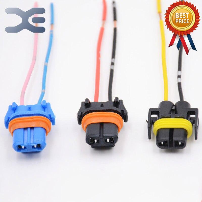 1Pcs Car Headlights Socket 9005/9006 Socket H11/H8/881 Universal Lamp Holder Plug